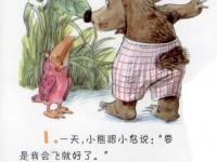 想飞的小熊和想长大的小鸟