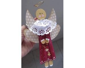如何用雪糕棍制作小天使 雪糕棍
