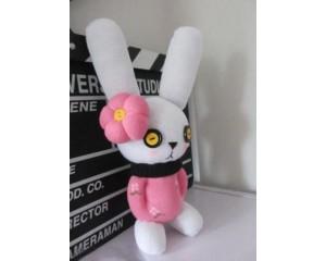 袜子娃娃制作图解 可爱布艺兔子