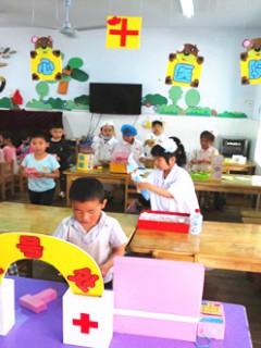 大班幼儿区域活动的有效开展——区域游戏与主题活动的融合