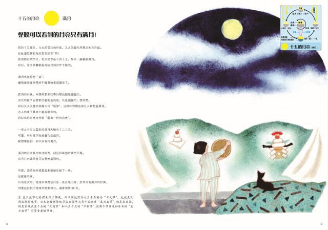 《有趣的月亮观察绘本》何以风靡日本?